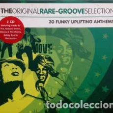 CDs de Música: VARIOUS - THE ORIGINAL RARE GROOVE SELECTION (2XCD, COMP) LABEL:ORIGINAL SELECTION RECORDS CAT#: OS. Lote 269226468