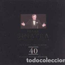 CDs de Música: FRANK SINATRA - THE GOLD COLLECTION - 40 CLASSIC PERFORMANCES (2XCD, COMP) LABEL:RETRO (2) CAT#: R2. Lote 269227173