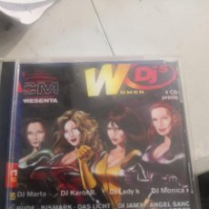 CDs de Música: CUADRUPLE CD - WOMEN DJS - DJ MARTA, KAROL B., LADY K, MONICA X. Lote 269230633