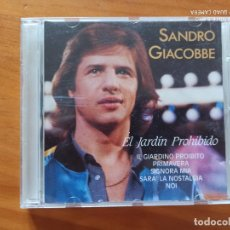 CDs de Música: CD SANDRO GIACOBBE - EL JARDIN PROHIBIDO - LEER DESCRIPCION (EG). Lote 269241153