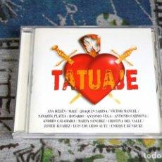 CDs de Música: TATUAJE - BUNBURY - MARTA SÁNCHEZ - SABINA - ANTONIO VEGA - 74321 70072 2 - CD. Lote 269249693