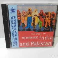 CDs de Música: DISCO CD. THE ROUGH GUIDE TO THE MUSIC OF INDIA & PAKISTAN. COMPACT DISC.. Lote 269253793