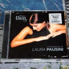 CDs de Música: THE BEST OF LAURA PAUSINI - E RITORNO DA TE - CGD EAST WEST - 092741035-2 - CD. Lote 269255678