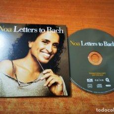 CDs de Música: NOA LETTERS TO BACH CD ALBUM PROMO CARTON DEL AÑO 2019 FRANCIA CONTIENE 11 TEMAS. Lote 269282583