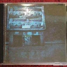 CDs de Música: LOS SABANDEÑOS (EN DIRECTO - TEATRO GUIMERA - STA. CRUZ DE TENERIFE) CD 1987. Lote 269290363
