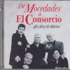 CDs de Música: DE MOCEDADES A EL CONSORCIO DOBLE CD 40 AÑOS DE MÚSICA 2010. Lote 269293123