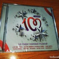 CDs de Música: CADENA 100 LA MEJOR NAVIDAD MUSICAL CD ALBUM PRECINTADO 2017 MARIAH CAREY WHAM SECRETOS ELTON JOHN. Lote 269293448