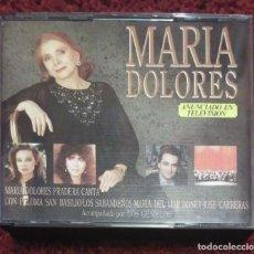 CDs de Música: MARIA DOLORES PRADERA - 2 CD'S 1989 (CANTA CON SABANDEÑOS, PALOMA SAN BASILIO, JOSE CARRERAS..). Lote 269293498