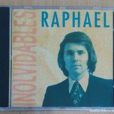 CDs de Música: RAPHAEL (INOLVIDABLES) CD 1996 CIRCULO DE LECTORES. Lote 269298523