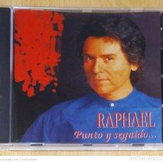 CDs de Música: RAPHAEL (PUNTO Y SEGUIDO) CD 1996 MEXICO. Lote 269298638