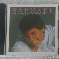 CDs de Música: RAPHAEL (MARAVILLOSO CORAZON MARAVILLOSO) CD 1989 EDICIÓN USA. Lote 269299073
