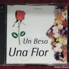 CDs de Música: UN BESO Y UNA FLOR - 2 CD'S 1995 (NINO BRAVO, LOLITA, MOCEDADES, LOS PANCHOS, ABBA, UMBERTO TOZZI..). Lote 269299423