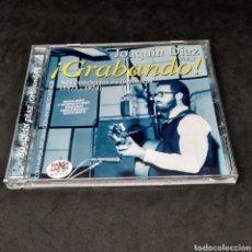 CDs de Música: JOAQUÍN DÍAZ - ¡ GRABANDO ! - SUS CONCIERTOS RADIOFÓNICOS - (1973 - 1974) RAMA LAMA MUSIC - 2017. Lote 269304643