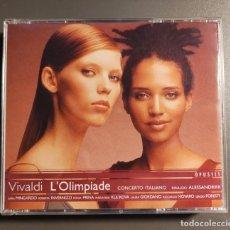 CDs de Música: VIVALDI. L'OLIMPIADE. CONCERTO ITALIANO. RINALDO ALESSANDRINI. CON SARA MINGARDO. Lote 269312968