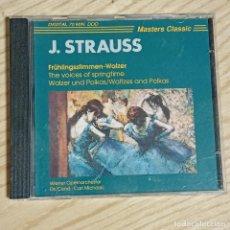 CDs de Música: JOHANN STRAUSS II FRÜHLINGSSTIMMEN- CD. Lote 269319773