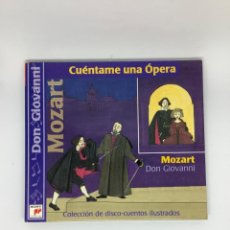CDs de Música: DON GIOVANNI . ÓPERA MOZART. VERSIÓN INFANTIL CUÉNTAME UNA ÓPERA. RAIMONDI, KANAWA, BERGANZA.. Lote 269320903