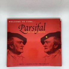 CDs de Música: CD. PARSIFAL GOES TO LA HABANA. BEN LIERHOUSE PROJECT. WAGNER Y CUBA.. Lote 269321498