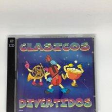 CDs de Música: CLÁSICOS DIVERTIDOS. LAS PIEZAS MÁS DIVERTIDAS DE LA MÚSICA CLÁSICA. DOBLE.. Lote 269321638
