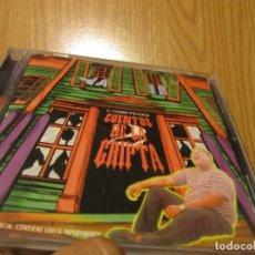 CDs de Música: EL CHOMBO – CUENTOS DE LA CRIPTA 2 REGGAETON OLD SCHOOL-DIFICIL. Lote 269324098