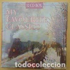 CDs de Música: MY FAVORITE CLASSICS 10 CD BOX. Lote 269337853