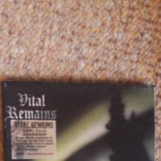 CDs de Música: VITAL REMAINS , INTO COLD DARKNESS , CD 2004 DIGIPACK, CD IMPECABLE, CARÁTULA CON SEÑALES DE USO. Lote 269345403