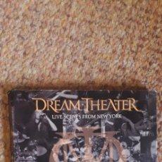 CDs de Música: DREAM THEATER , LIVE SCENES FROM NEW YORK , 3XCD DIGIPACK , DISCOS Y CARÁTULA CON SEÑALES DE USO .. Lote 269346538