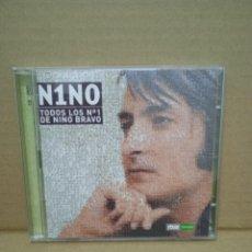 CDs de Música: N1NO. TODOS LOS N° 1 DE NINO BRAVO.. Lote 269347348