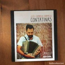 CDs de Música: LUÍS CORREIA CARMELO - CONTATINAS - CD BOCA PORTUGAL 2012. Lote 269367623