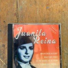 CDs de Música: CD JUANITA REINA - VERSIONES ORIGINALES - LE FALTA LA CARATULA DE LA TRASERA DEL CD. Lote 269377783
