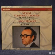 CDs de Música: MOZART, ALFRED BRENDEL, MARTIN-IN-THE-FIELDS, NEVILLE M. - THE PIANO CONCERTOS (NR 5 - 27) - 10 CD. Lote 269379548
