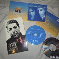 CDs de Música: LOTE LIBRO LEONARD COHEN CANCIONES VOL.2 INCLUYE INÉDITAS, CD 10 NEW SONGS +DON MCLEAN, ROCK AUTOR. Lote 269403293