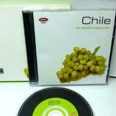 CDs de Música: CD CHILE THE GREATEST SONGS EVER RECOPILACION TVV. Lote 269421528