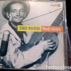 CDs de Música: EARLY MASTER WOODY GUTHRIE CD. Lote 269423878