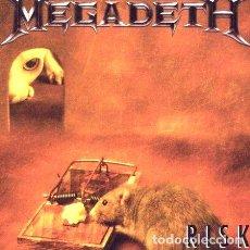 CDs de Música: MEGADETH RISK CD NUEVO REMASTERED ORIGINAL. Lote 269429818