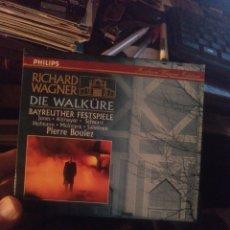 CDs de Música: WAGNER DIE WALKURE. Lote 269491748