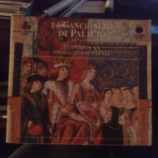 CDs de Música: EL CANCIONERO DE PALACIO. Lote 269491933