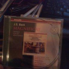 CDs de Música: BACH MAGNÍFICAT. Lote 269497158