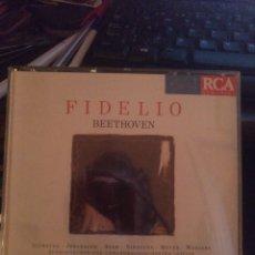 CDs de Música: BEETHOVEN FIDELIO. Lote 269497223