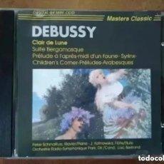 CDs de Música: DEBUSSY - CLAIR DE LUNE. ORCHESTRE RADIO-SYMPHONIQUE PARIS (CD). Lote 269497658
