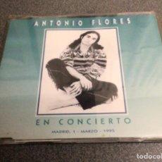 CDs de Música: ANTONIO FLORES EN CONCIERTO. Lote 269500388
