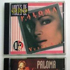 CDs de Música: CD LOTE PALOMA SAN BASILIO : VUELA ALTO (1988 VOCES DE ORO) + COMO UN SUEÑO (1996 DOBLE CD). Lote 269585278