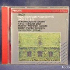 "CDs de Música: BACH - ENGLISH CHAMBER ORCHESTRA, RAYMOND LEPPARD - THE ""BRANDENBURG"" CONCERTOS NOS. 1, 2 & 3 - CD. Lote 269600578"
