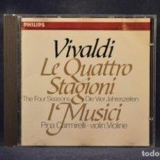 CDs de Música: VIVALDI, PINA CARMIRELLI, I MUSICI - LE QUATTRO STAGIONI - CD. Lote 269609438
