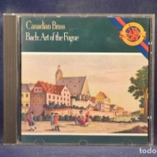 CDs de Música: CANADIAN BRASS, BACH - ART OF THE FUGUE - CD. Lote 269610933