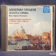 CDs de Música: ANTONIO VIVALDI, L'ARTE DELL'ARCO, CHRISTOPHER HOGWOOD, FEDERICO GUGLIELMO - AVANTI L'OPERA - CD. Lote 269614548