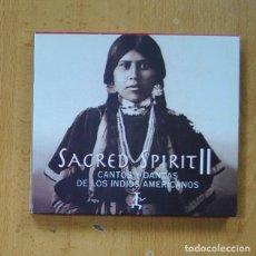 CD de Música: SACRED SPIRIT II - CANTOS Y DANZAS DE LOS INDIOS AMERICANOS - CD. Lote 269636083