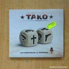 CD de Música: TAKO - LAS CAMPANAS DE LA VERGUENZA - CD. Lote 269636533