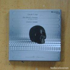 CD di Musica: TARTINI / ANDREW MANZE - THE DEVIL´S SONATA - CD. Lote 269639413