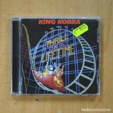 CDs de Musique: KING KOBRA - THRILL OF A LIFETIME - CD. Lote 269640288