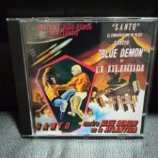 CDs de Musique: GUSTAVO CESAR CARRIÓN-SANTO CONTRA BLUE DEMON EN LA ATLÁNTIDA.. Lote 269689423